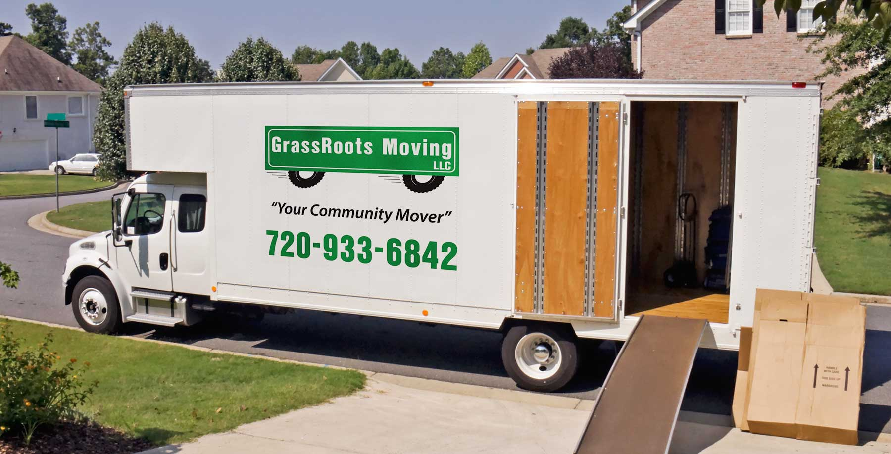 GrassRoots Moving truck